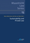 Image for Sustainability and Private Law