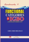 Image for Functional Categories in Igbo. a Minimalist Perspective