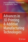 Image for Advances in 3D printing & additive manufacturing technologies