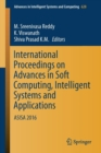 Image for International Proceedings on Advances in Soft Computing, Intelligent Systems and Applications : ASISA 2016