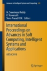 Image for International Proceedings on Advances in Soft Computing, Intelligent Systems and Applications: ASISA 2016 : 628