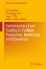 Image for Contemporary case studies on fashion production, marketing and operations