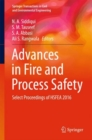 Image for Advances in Fire and Process Safety : Select Proceedings of HSFEA 2016