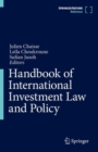Image for Handbook of international investment law and policy