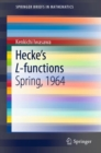 Image for Hecke's L-functions : Spring, 1964