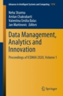 Image for Data Management, Analytics and Innovation : Proceedings of ICDMAI 2020, Volume 1