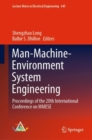 Image for Man-Machine-Environment System Engineering: Proceedings of the 20th International Conference on MMESE