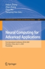 Image for Neural Computing for Advanced Applications : First International Conference, NCAA 2020, Shenzhen, China, July 3-5, 2020, Proceedings