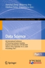 Image for Data Science : 6th International Conference of Pioneering Computer Scientists, Engineers and Educators, ICPCSEE 2020, Taiyuan, China, September 18-21, 2020, Proceedings, Part I