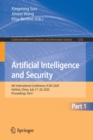 Image for Artificial Intelligence and Security : 6th International Conference, ICAIS 2020, Hohhot, China, July 17-20, 2020, Proceedings, Part I