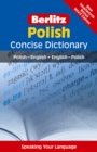 Image for Berlitz Polish concise dictionary  : Polish-English, English-Polish
