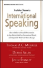 Image for Insider secrets of international speaking
