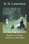 Image for Studies in Classic American Literature