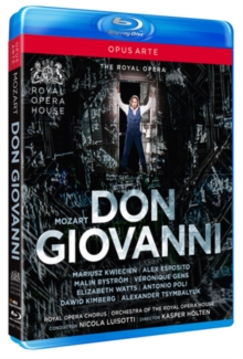 Image for Don Giovanni: Royal Opera House (Luisotti)