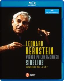 Image for Sibelius: Symphonies Nos. 1, 2, 5 and 7 (Leonard Bernstein)