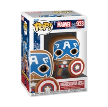 Image for Funko Pop! Marvel : Holiday - Captain America