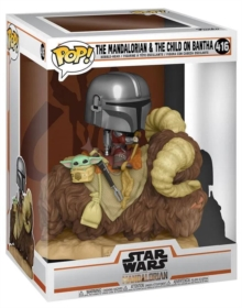 Image for Funko Pop! Deluxe - Star Wars : The Mandalorian & The Child on Bantha