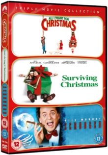 Image for All I Want for Christmas/Surviving Christmas/Scrooged