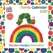 Image for The Hungry Caterpillar, Eric Carle Square Wall Planner Calendar 2021