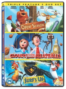 Image for Cloudy With a Chance of Meatballs/Open Season/Surf's Up