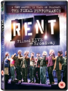 Image for Rent: The Final Performance - Filmed Live On Broadway