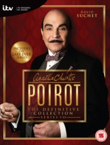 Image for Agatha Christie's Poirot: The Definitive Collection - Series 1-13