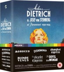 Image for Marlene Dietrich & Josef Von Sternberg at Paramount 1930-1935