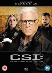 Image for CSI - Crime Scene Investigation: The Complete Season 15