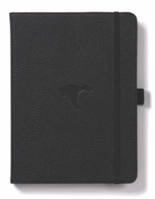 Image for Dingbats A5+ Wildlife Black Duck Notebook - Graph