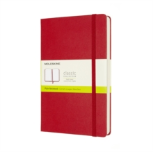 Image for Moleskine Expanded Large Plain Hardcover Notebook : Scarlet Red