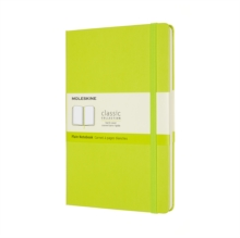 Image for Moleskine Large Plain Hardcover Notebook : Lemon Green