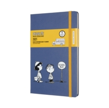 Image for Moleskine Limited Edition Peanuts 2021 12-Month Weekly Large Diary : School Bus