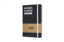 Image for Moleskine Denim Notebook Limited Collection 'skinny. Flared. Bookcut.' Large Ruled Notebook Hard