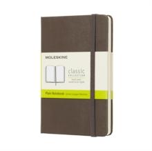 Image for Moleskine Earth Brown Notebook Pocket Plain Hard