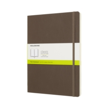 Image for Moleskine Earth Brown Notebook Extra Large Plain Soft