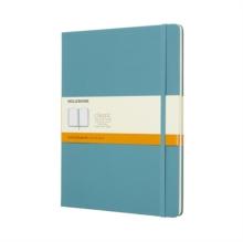 Image for Moleskine Reef Blue Notebook Extra Large Ruled Hard