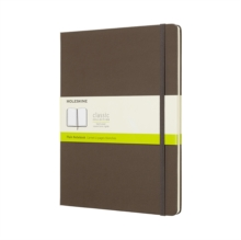 Image for Moleskine Earth Brown Notebook Extra Large Plain Hard
