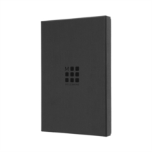 Image for LEATHER NOTEBOOK BLACK