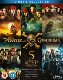 Image for Pirates of the Caribbean: 5-movie Collection