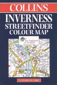 Image for Collins Inverness Streetfinder Colour Map