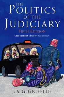 Image for The politics of the judiciary
