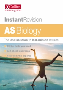 Image for AS biology  : the ideal solution to last-minute revision