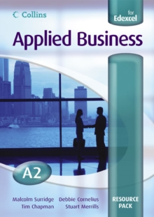 Image for Applied Business A2 for EDEXCEL Resource Pack
