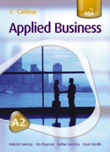 Image for Applied business, A2  : endorsed by AQA