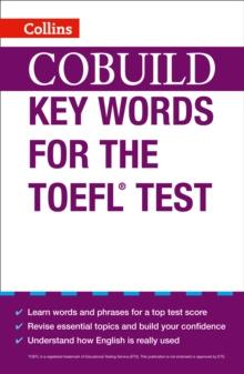 Image for Collins cobuild key words for the TOEFL test