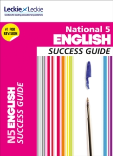 Image for National 5 English Success Guide : Revise for Sqa Exams