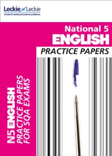 Image for National 5 English practice papers for SQA exams