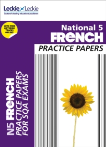 Image for National 5 French practice papers for SQA exams
