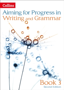 Image for Aiming for progress in writing and grammarBook 3