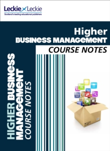 Image for Higher Business Management Course Notes : For Curriculum for Excellence Sqa Exams